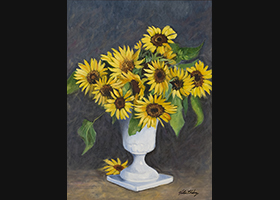 Victor Blakey -- Captured Sunflowers