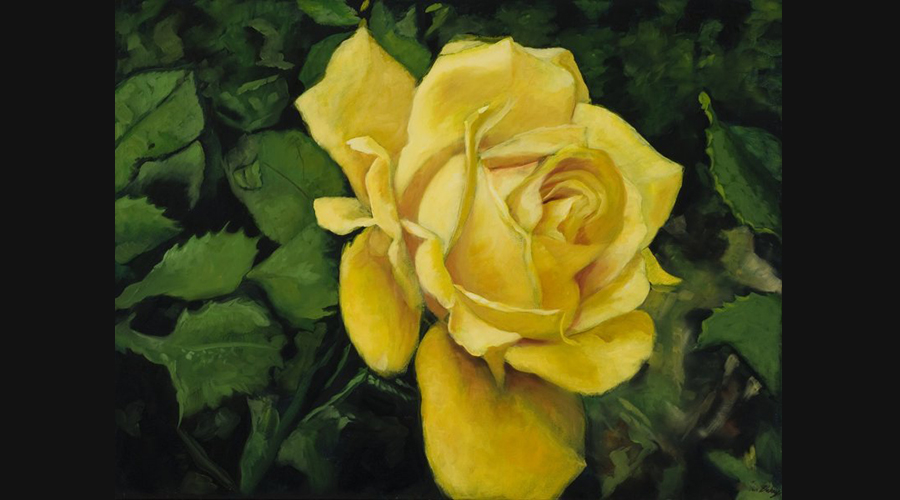 Victor blakey fine art flowers gallery victor blakey yellow rose of texas mightylinksfo